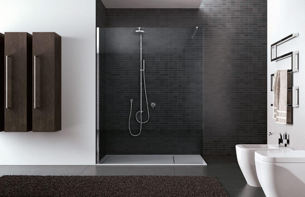 Walk-in – Cabina de ducha sin perfiles - Disenia
