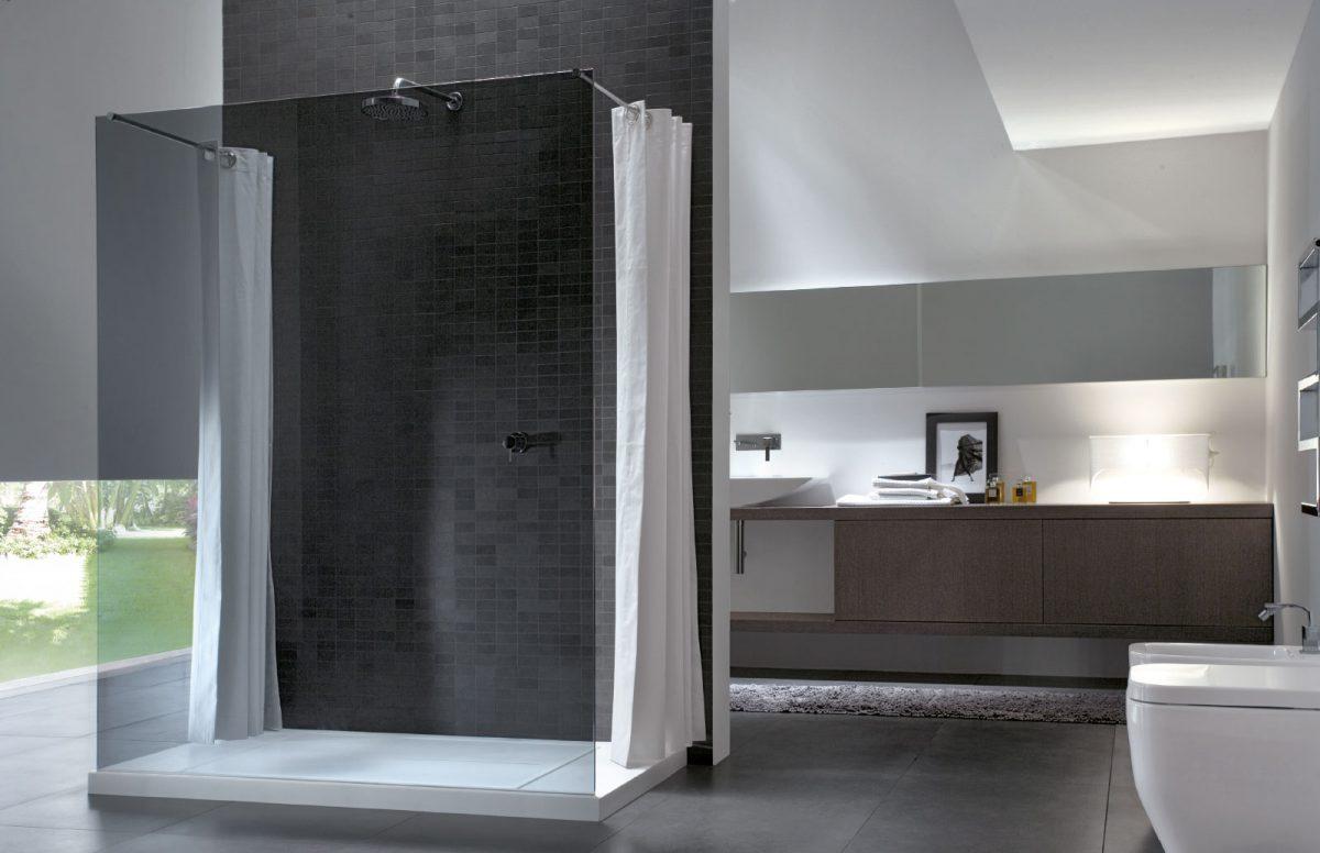 Walk in cabina de ducha sin perfiles disenia - Box doccia senza silicone ...