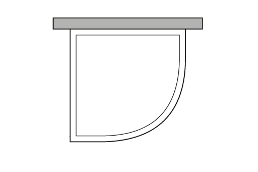 Pared semicircular