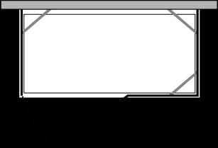 CNPOX + CNFI : Doble lateral fijo con puerta y fijo (componible angular)