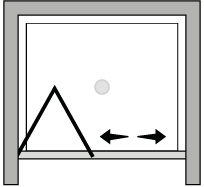 LKSF : Puerta plegable (frontal)