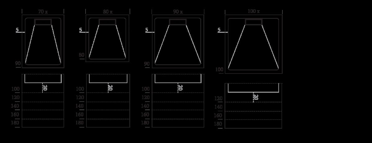 Dimensiones Linea