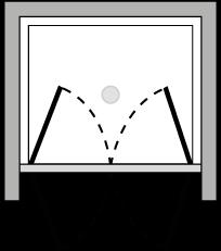 LB2P : Puerta de doble batiente (frontal)