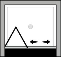 QUSF : Puerta plegable (frontal)