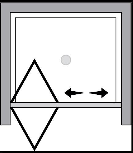 QTSF : Porta a soffietto (in nicchia)